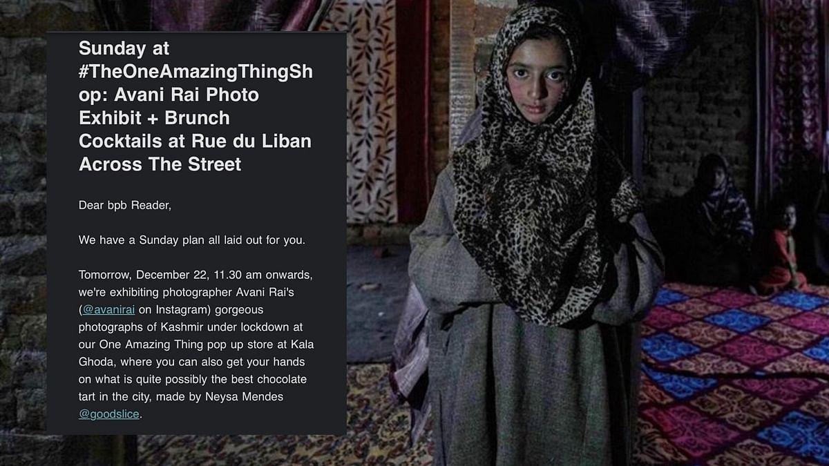 Avani Rai received flak for her photo exhibition.