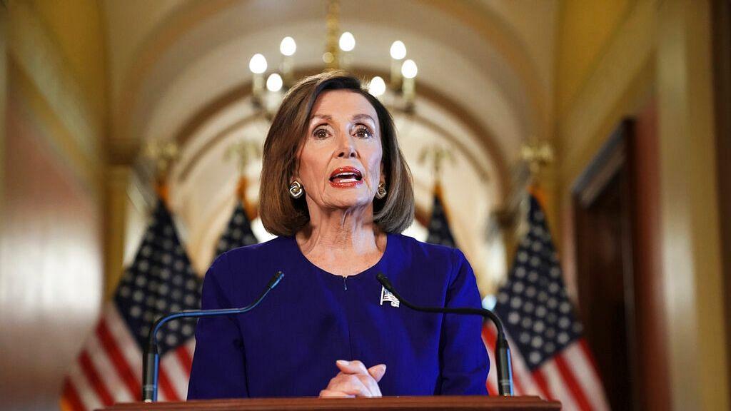 House Speaker Nancy Pelosi of California.