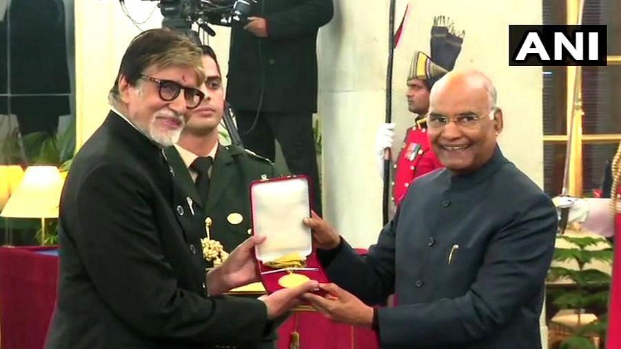 Amitabh Bachchan Receives the Dadasaheb Phalke Award