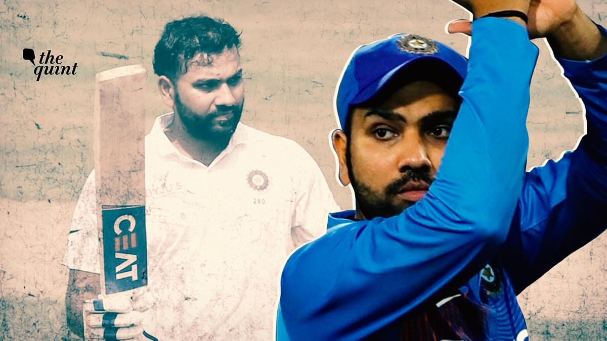 Rohit Sharma aggregated 2442 runs from 47 international innings at an average of 53.08 in 2019.