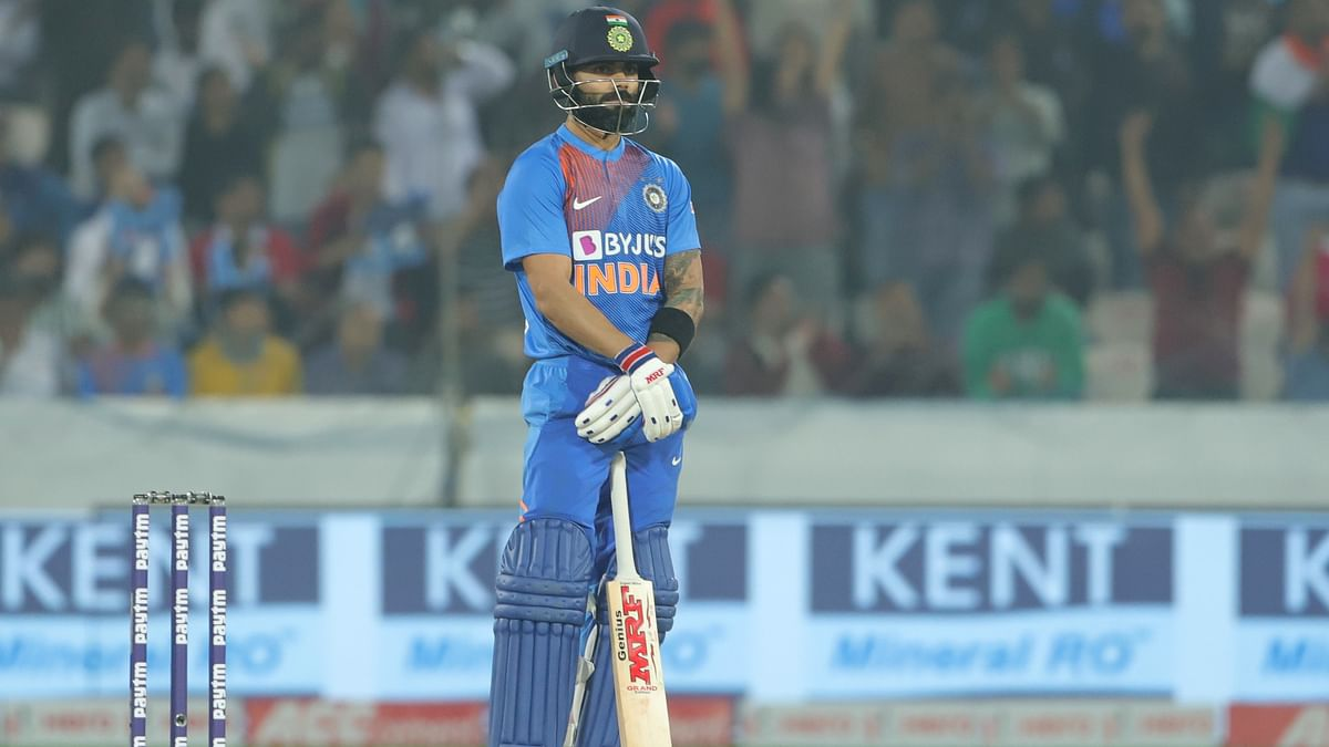 Kohli played a sublime innings of career-best 94 not out in India's six-wicket win over West Indies in the first T20 International.