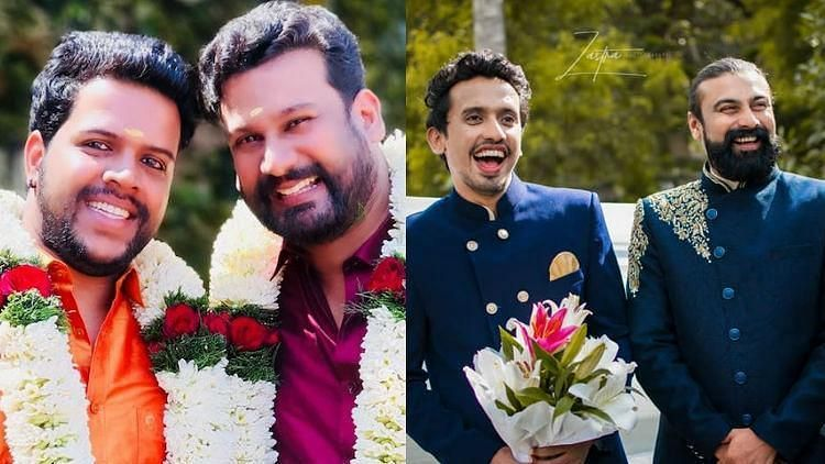 In Pics: Meet the Gay Couples From Kerala Who Recently Got Married