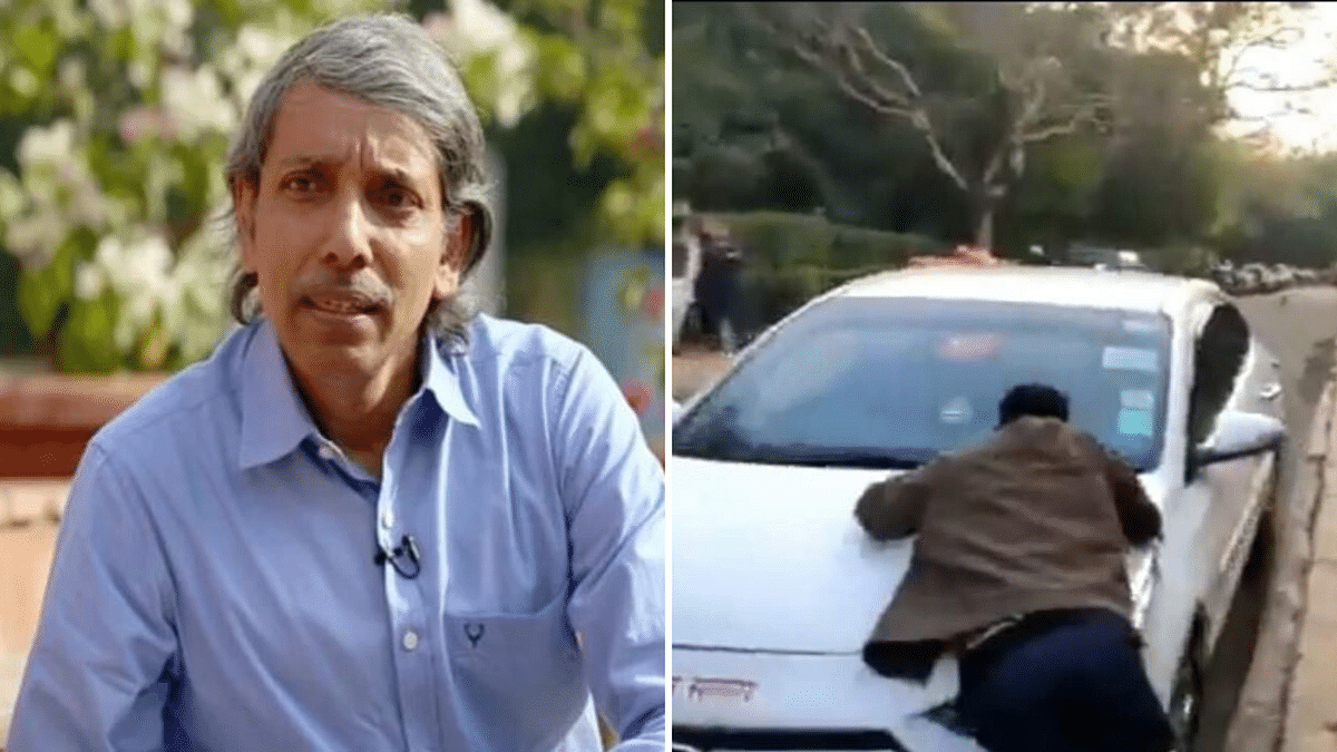 Ruckus in JNU: VC Alleges Attack, Students Say His Car Hit Them