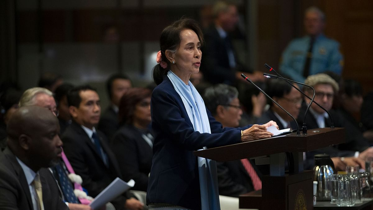 Suu Kyi Denies Myanmar Genocide Allegations at Top UN Court