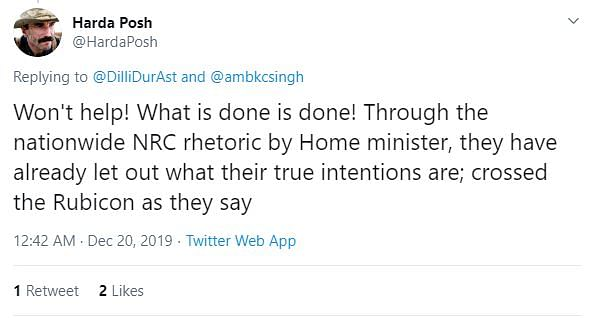 BJP Deletes Its Tweet on NRC as Nationwide Protests Gain Ground