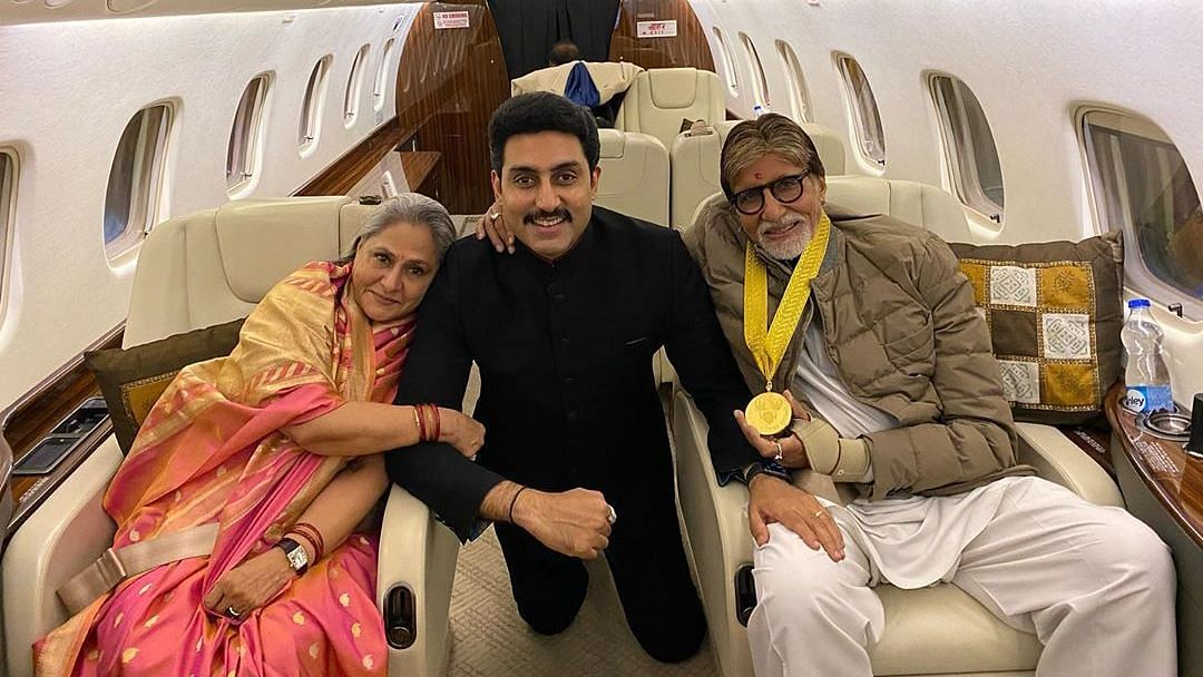 My Hero: Abhishek Congratulates Big B on Dadasaheb Phalke