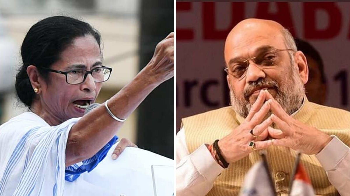 Amit Shah Has to Douse the Fire Lit by CAA: West Bengal CM Mamata