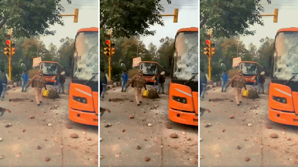 'Water, Not Fuel': Delhi Cops on Accusations of Setting Bus Ablaze