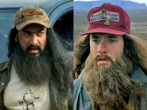 Aamir Khan's look from 'Laal Singh Chaddha' does justice to Forrest Gump.