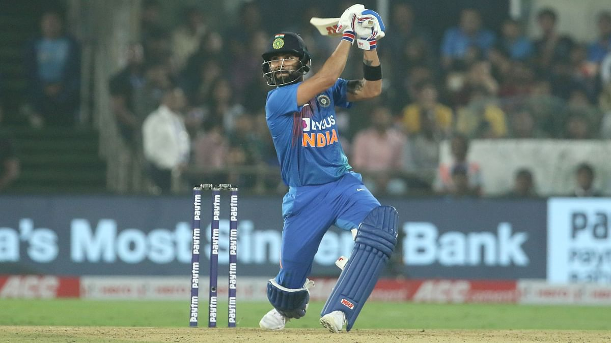 Rahul and Kohli shared 100 runs for the second wicket to lay the platform for the victory.