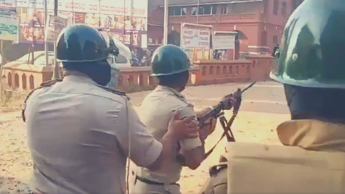 Protesters had defied the prohibitory orders in place in Mangaluru. Prohibitory orders are in place in five police station areas in Karnataka.