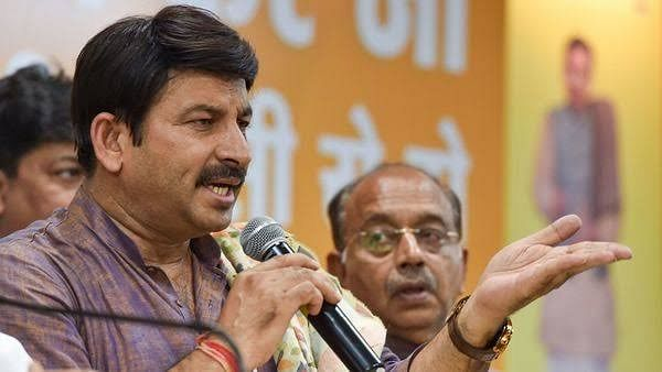 File image of Delhi BJP President Manoj Tiwari.