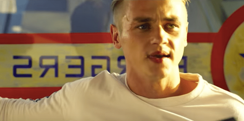"""Ben Hardy spends most of his jumping from one building to another as he plays """"Four""""."""