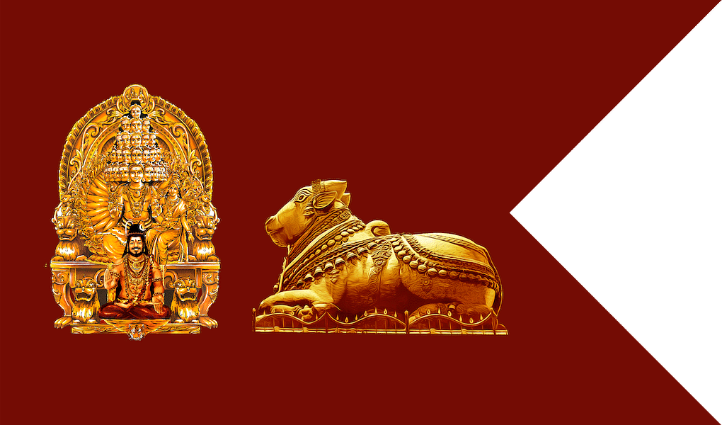 All Hindus are encouraged to print out the flag.
