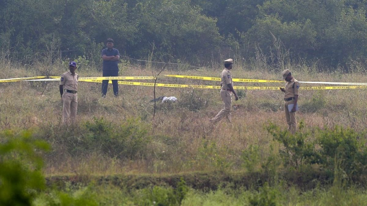 The four youths were later killed on the outskirts of Hyderabad in what the police claimed was an encounter.
