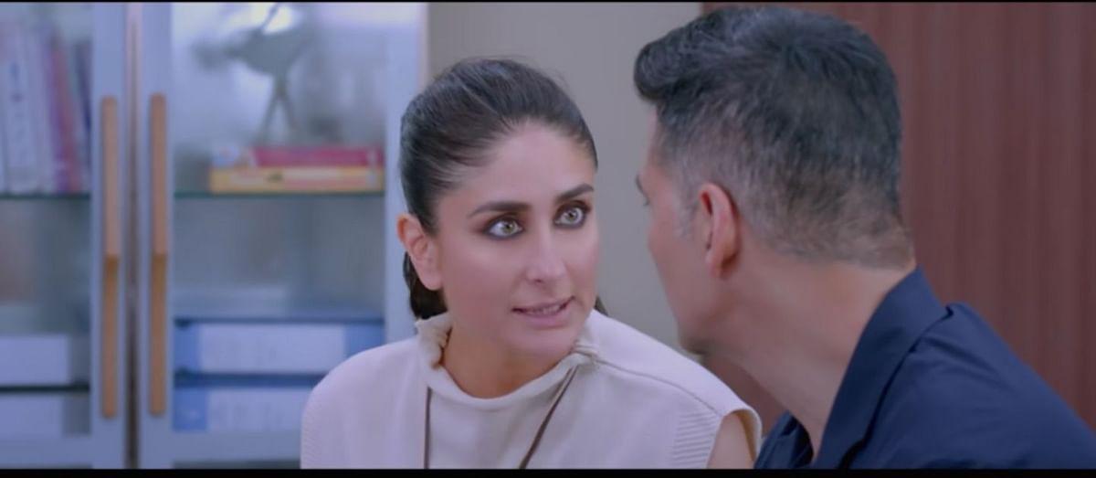 Kareena Kapoor in a still from <i>Good Newwz</i>.
