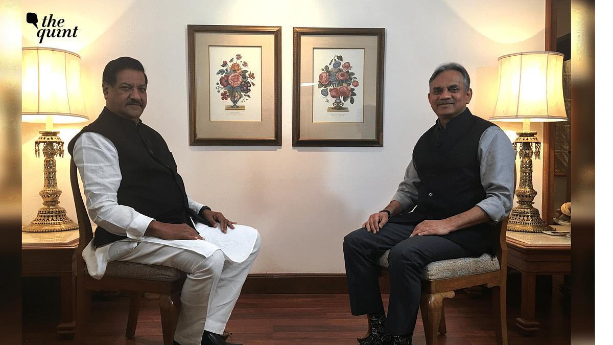 'MVA Can Pluck BJP From Local Areas in Maha': Prithviraj Chavan