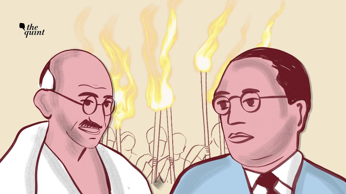 On Ambedkar's death anniversary, here's a glimpse of the relationship between the two leaders over the issue of untouchability.