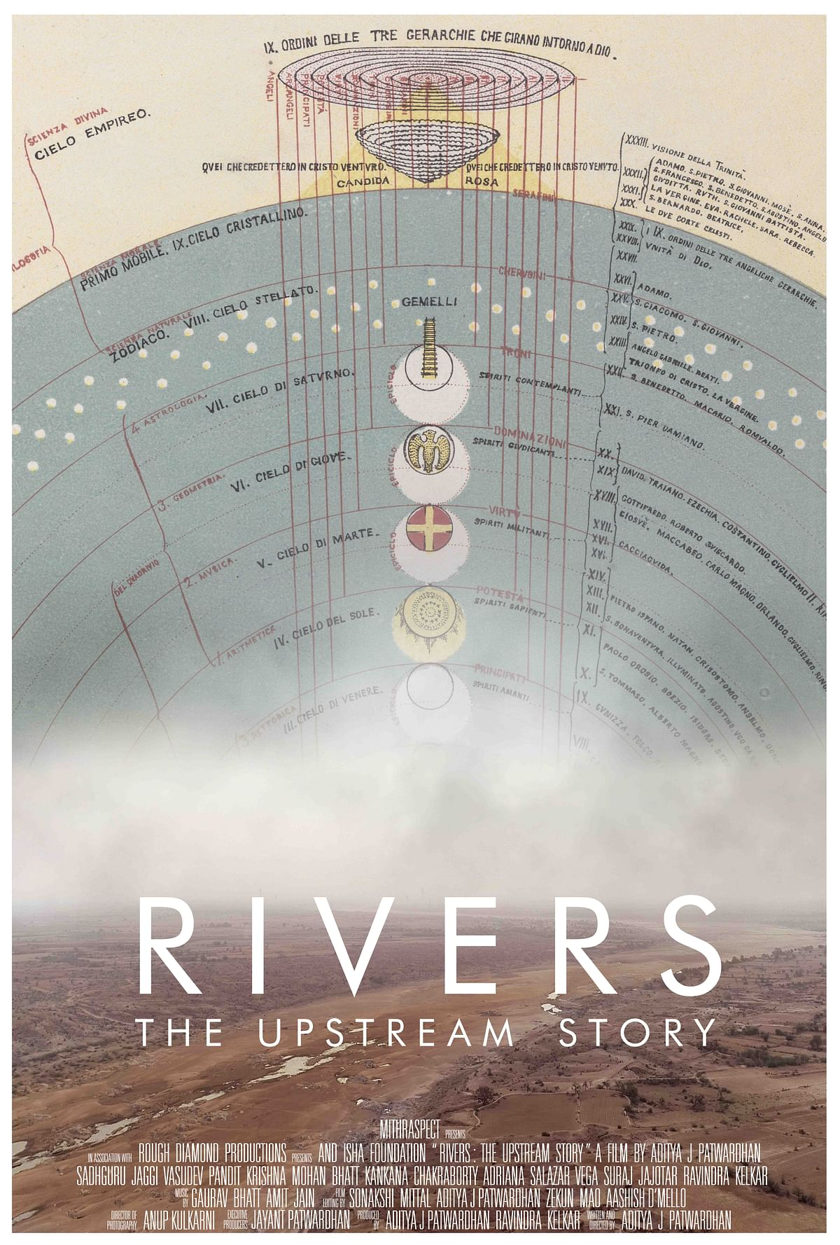 A poster of <i>Rivers the Upstream Story.&nbsp;</i>