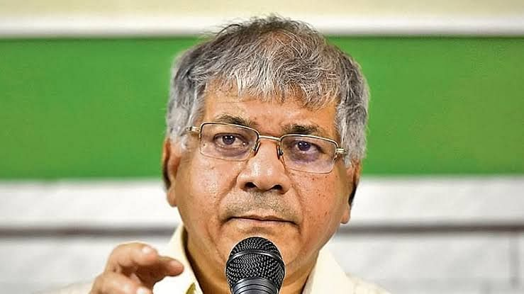 Vanchit Bahujan Aghadi (VBA) chief Prakash Ambedkar.
