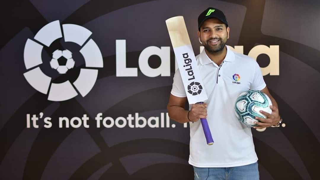Rohit is the first non-footballer in the history of the league to have become a brand ambassador.