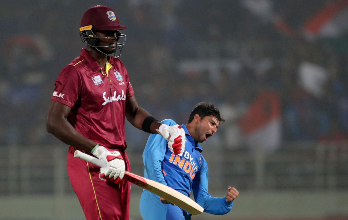 India v WI 2nd ODI: Kuldeep-Shami Help India Close Out 107-Run Win