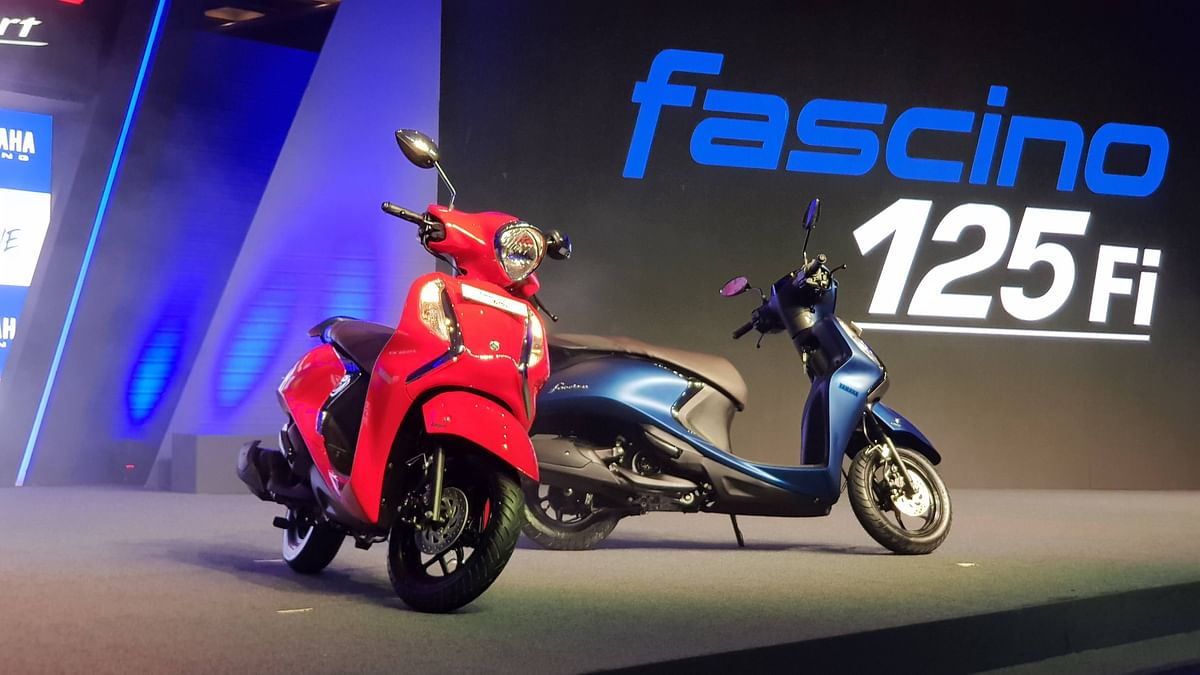 The Fascino 125Fi gets a new engine and minor styling updates.
