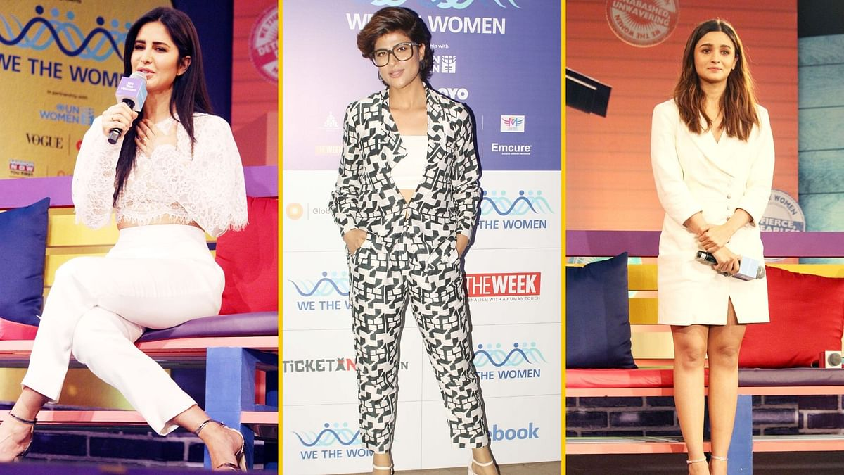Alia, Tahira, Katrina Speak Their Hearts out at We the Women Event