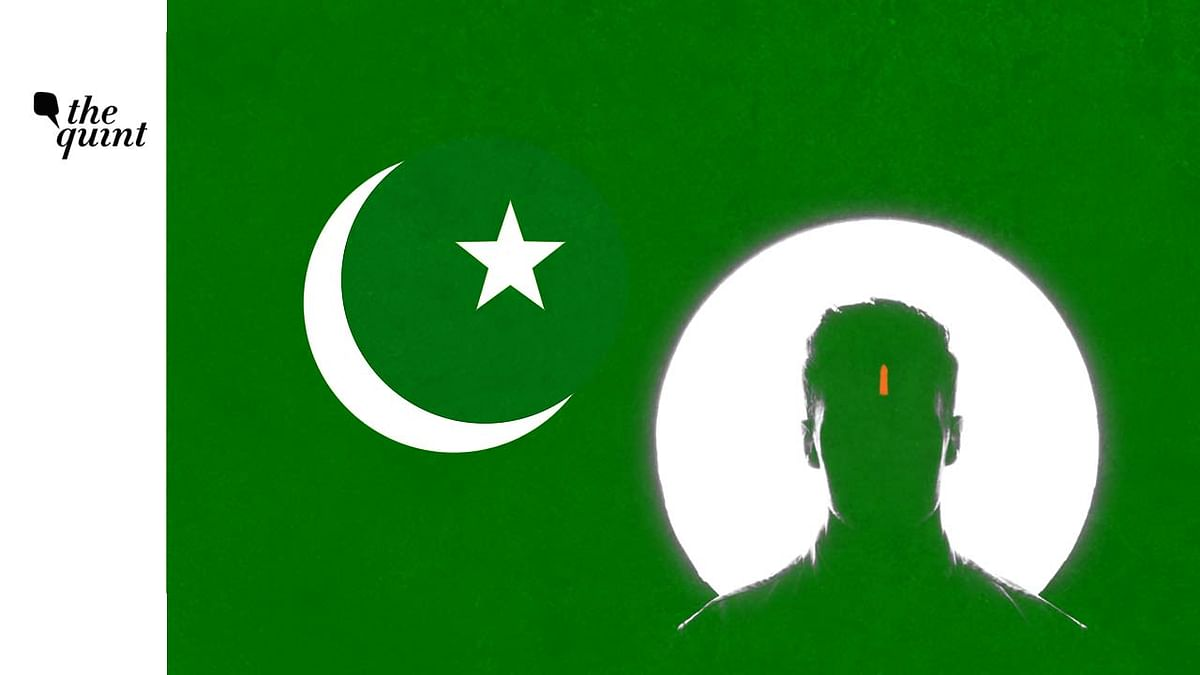 Image of Pakistan flag and a Hindu man used for representational purposes.