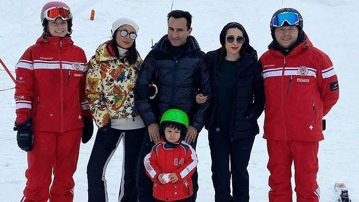 Saif, Kareena and Taimur Enjoy the Snow in Switzerland: Pics