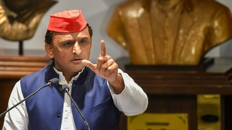 Akhilesh Yadav Detained Under Sec 144 for Dharna in UP, FIR Lodged