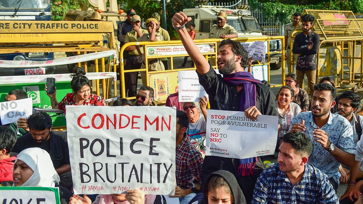 As Karnataka Joins Protest Against CAA, 38  Arrested  in Mangaluru