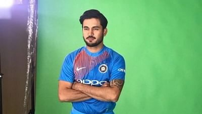 Indian cricketer Manish Pandey.