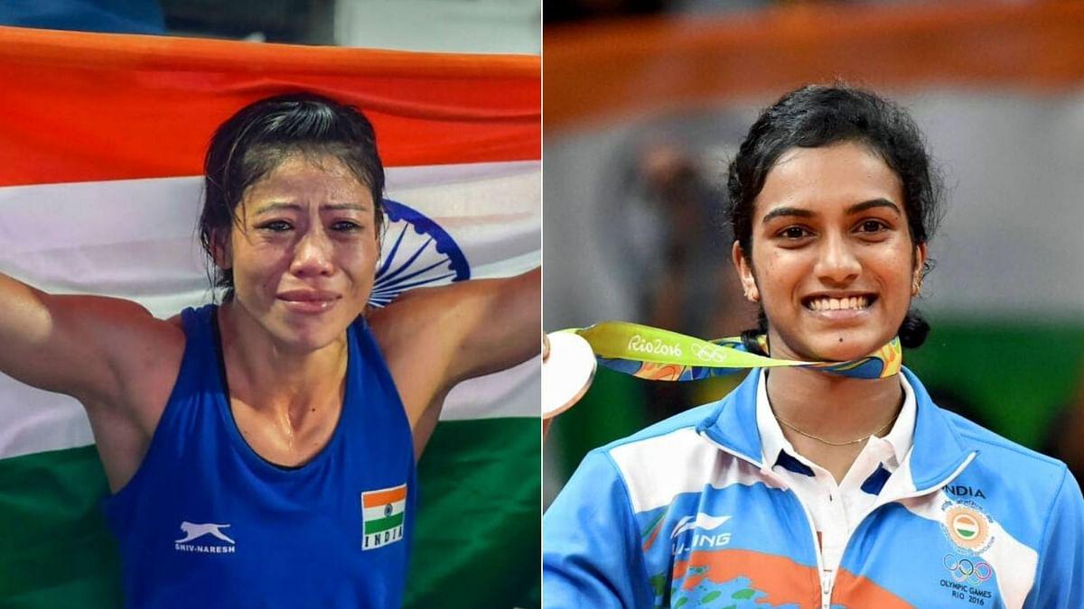 Athletes Mary Kom & PV Sindhu to Receive Padma Awards