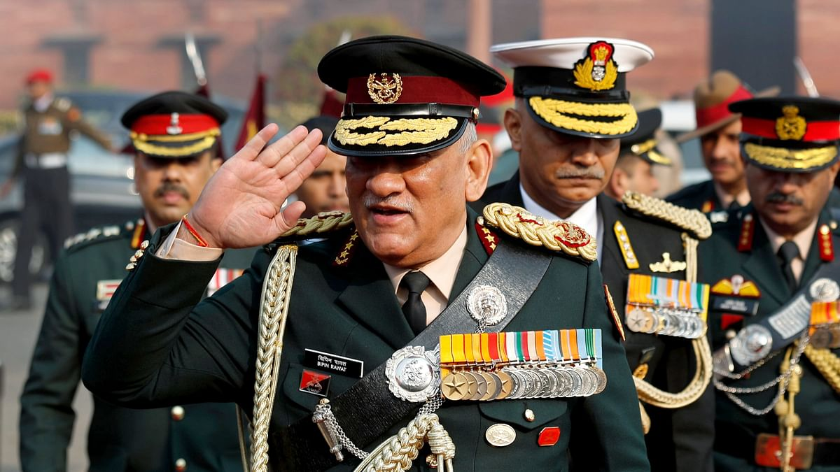 Newly appointed Chief of Defence Staff (CDS) General Bipin Rawat.