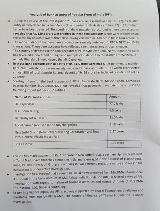Sibal, Jaising, Dave Deny Being Paid by PFI for Anti-CAA Support