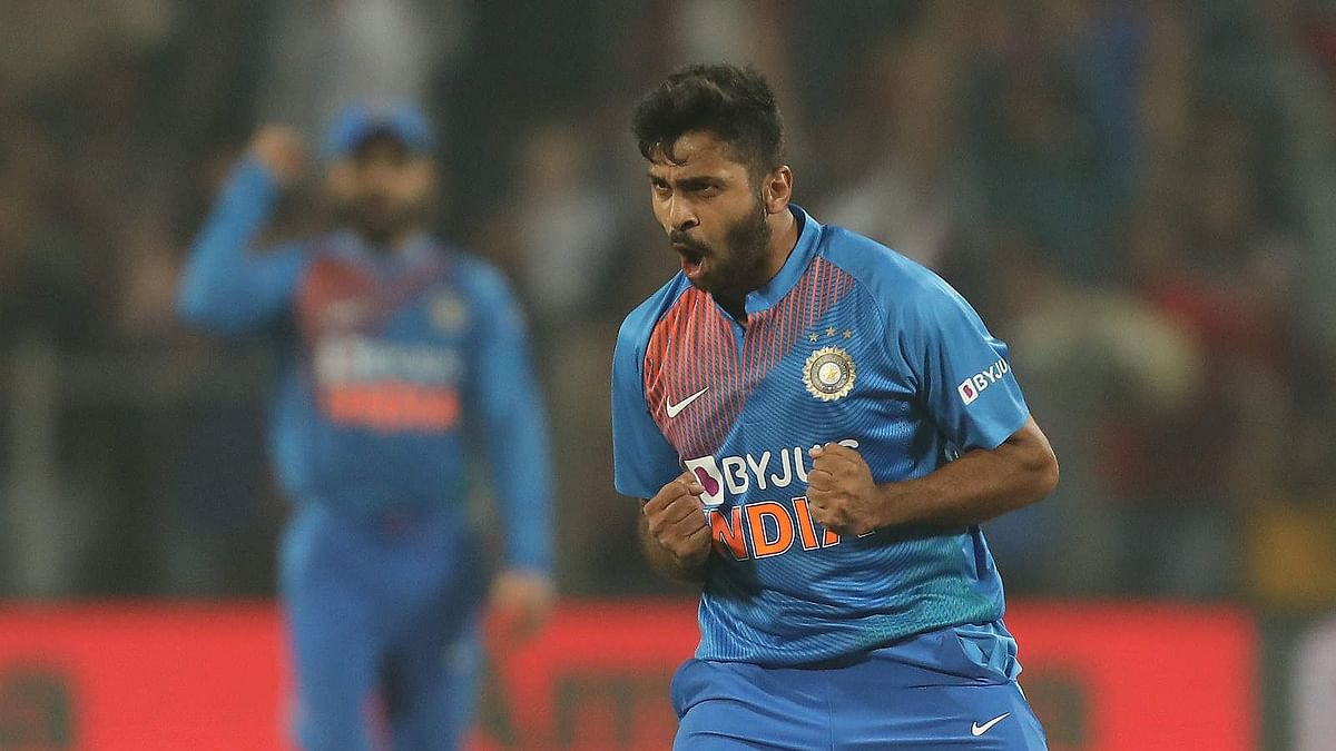 Shardul Thakur scored a handy eight-ball 22 before picking up two wickets to help India beat Sri Lanka in the third T20I in Pune on Friday.