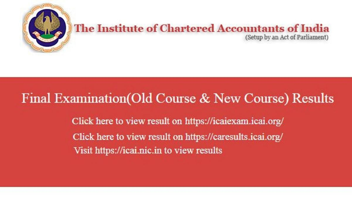 ICAI CA Final Result To Be Released Soon on icaiexam.icai.org