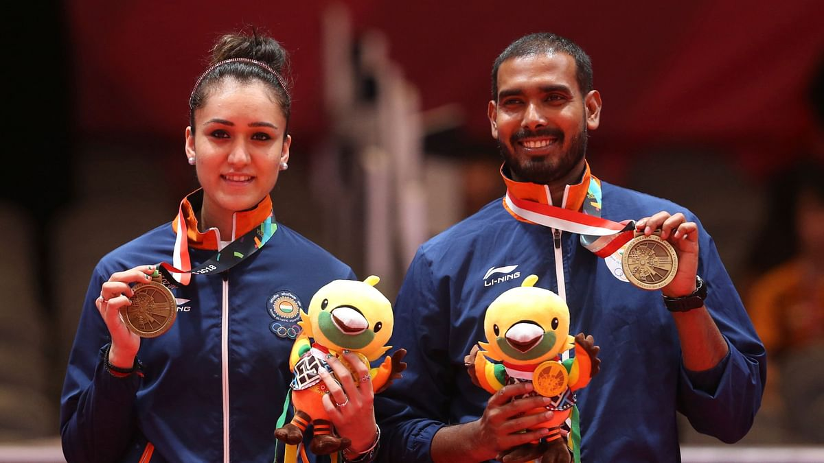 Indian TT Teams One Win Away From Securing Olympic Berths