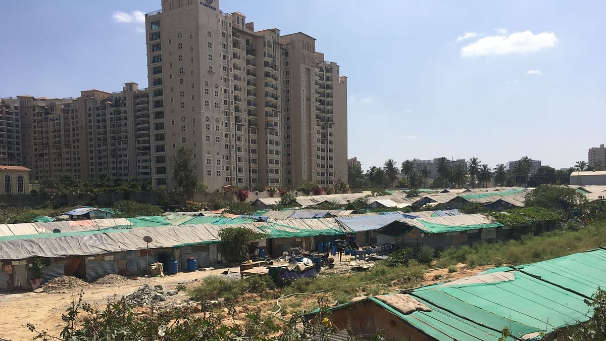 Kariyammana Agrahara sits alongside Mantri Espana apartments