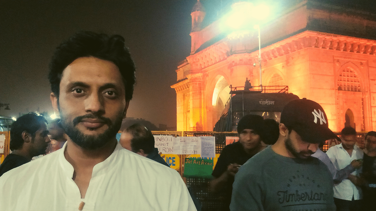 Zeeshan Ayyub: BJP Assaults the Peaceful and Supports the Violent