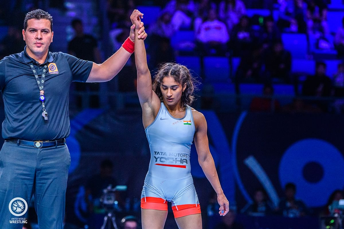 Vinesh Phogat bagged a quota place in her category but has been asked to participate in the trails.