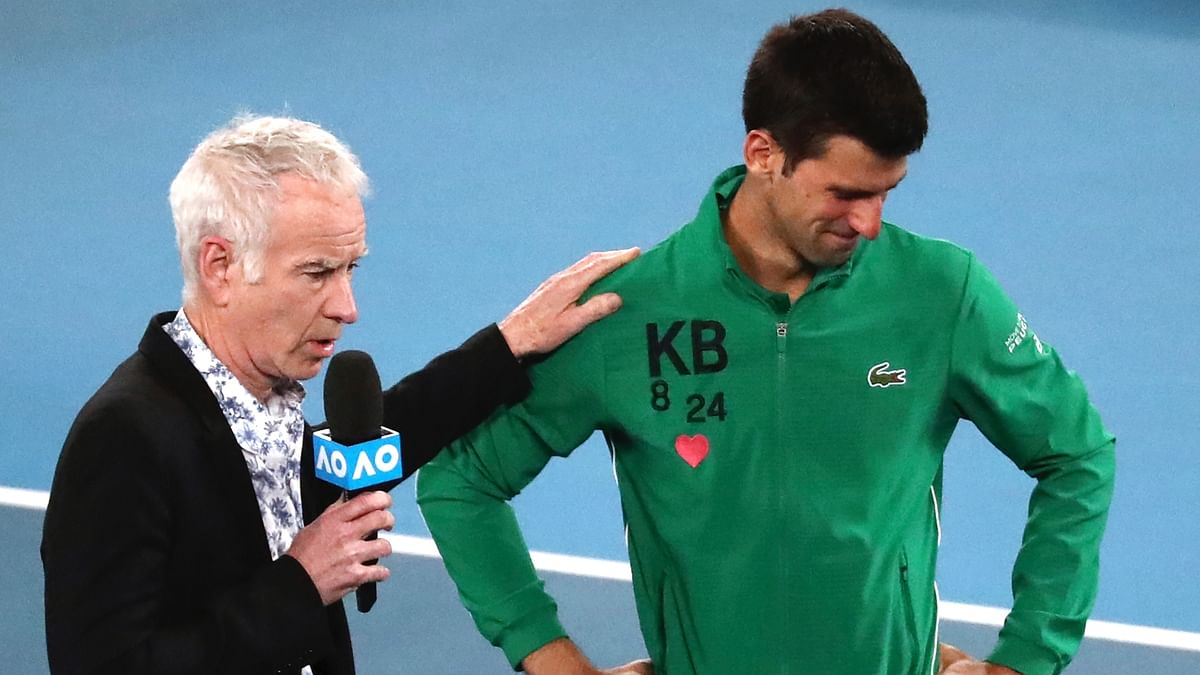"Serbian tennis great Novak Djokovic teared up on Tuesday, 28 January as he paid tribute to late basketball star Kobe Bryant, describing him as a ""mentor"" and a ""friend"" for the past 10 years."