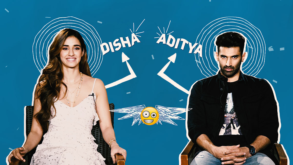 Aditya Roy Kapur & Disha Patani Play Games and Reveal Some Secrets