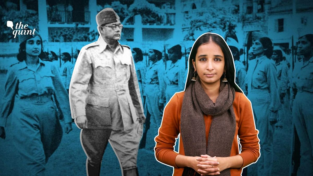 How did an army comprising prisoners of war and formed on foreign soil fight for India's freedom?
