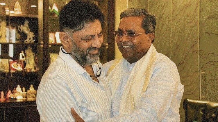 DK Shivakumar and Siddaramaiah