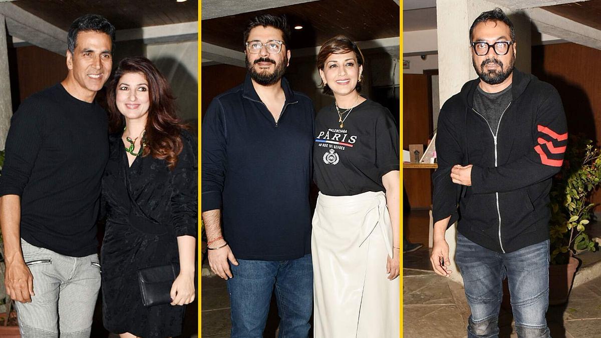 Pics: Akshay-Twinkle, Anurag Party With Sonali Bendre, Goldie Behl
