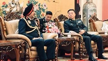 Northern Army Commander Visits China, Discusses Border Peace