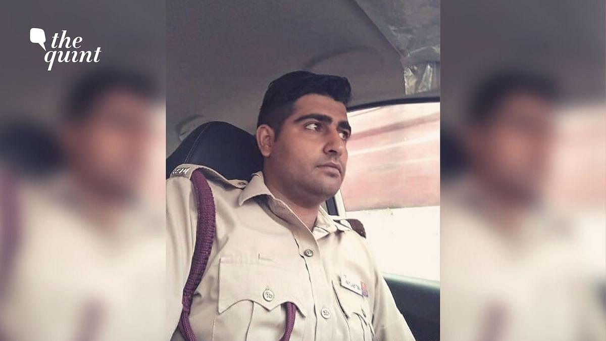 Firefighter Amit Balyan.