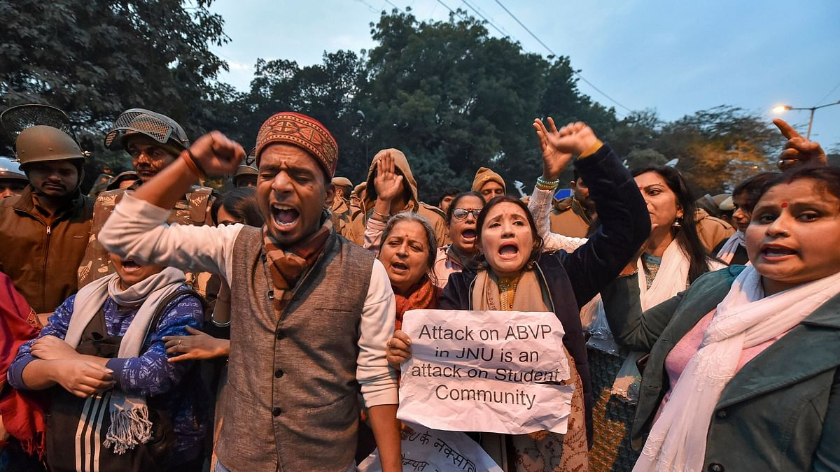 Students, Activists in India, Abroad Protest Against JNU Violence
